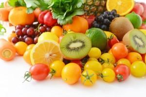 ビタミンが豊富に含まれている果物のイメージ