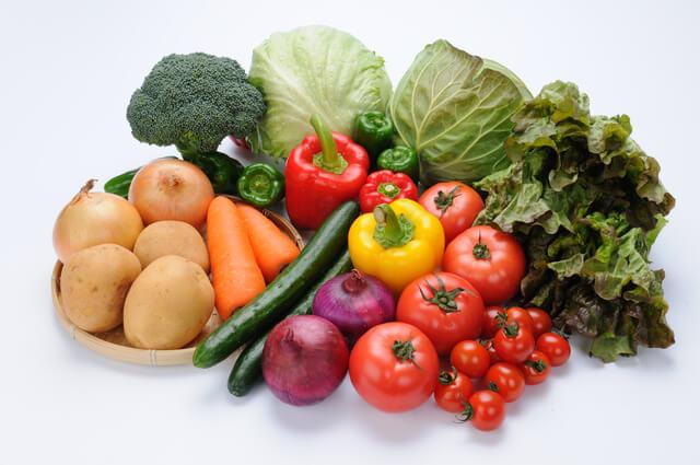 抗酸化力の高い緑黄色野菜