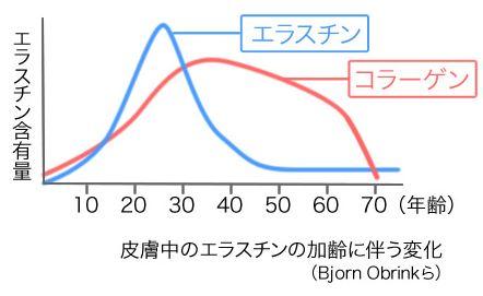 コラーゲンと年齢の関係