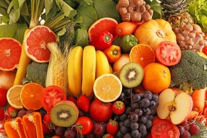 体の内側からむくみを解消するカリウムの多い食べ物の写真