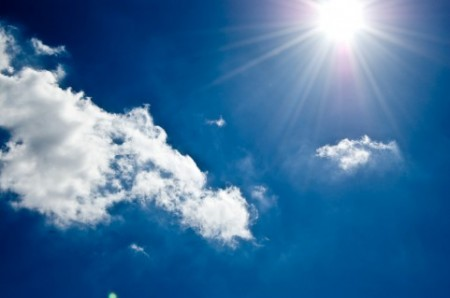 太陽光による紫外線