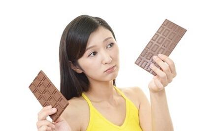 チョコレートで美肌効果