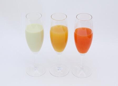 3種のカクテル