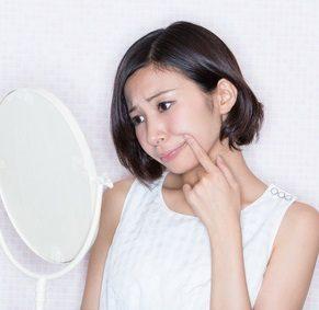 インナードライ肌で悩む女性