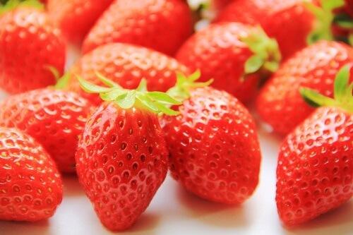 ビタミンが豊富なイチゴ