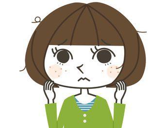 アトピー性皮膚炎で悩む女性