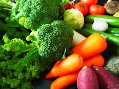 ビタミン豊富な食材