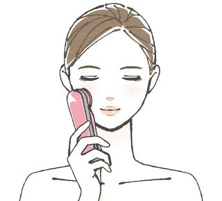 美顔器でほうれい線ケア