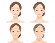 年代別の女性と肌の変化