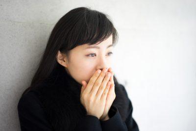 冷え性と顔冷えに悩む女性