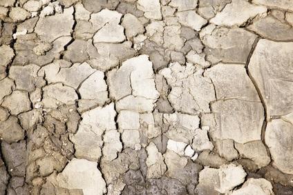 脂性肌の原因になる乾燥肌のイメージ