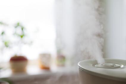 エアコンによる乾燥からお肌を守るための加湿器