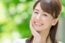お肌のバリア機能低下の改善と対策をした女性