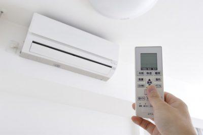暖房をつけるイメージ