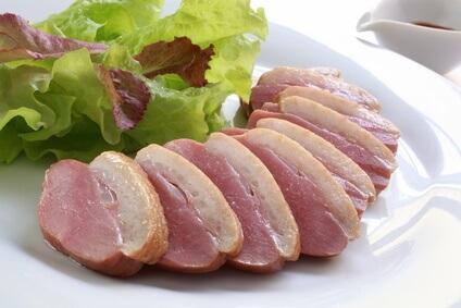 Ⅲ型コラーゲンが豊富なタンパク質を含んだ食事