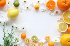 ソラレンを豊富に含む柑橘類