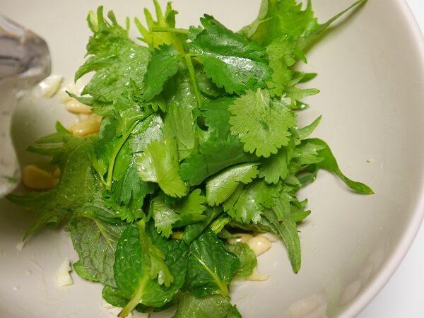 4月にオススメのビタミンAが豊富な大葉