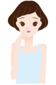 グリチルレチン酸ステアリルの効果を期待する女性