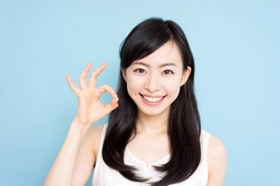 酵素洗顔によって肌悩みが改善された女性
