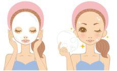 フェイスマスクやシートマスクで美肌になった女性