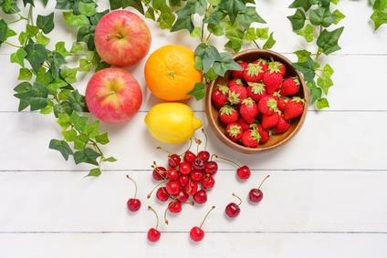 紫外線ダメージを防ぐ果物
