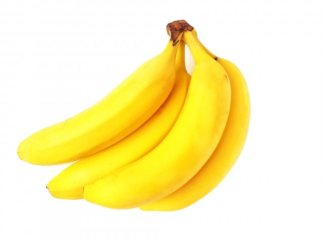 カリウムが豊富なバナナ