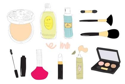 (ジメチコン/メチコン)コポリマー配合化粧品のイメージ
