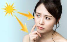 ロングUVAの紫外線対策を考える女性