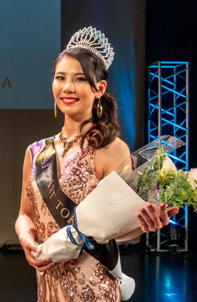 ミススプラナショナル西東京代表に選ばれた野口美沙希さん