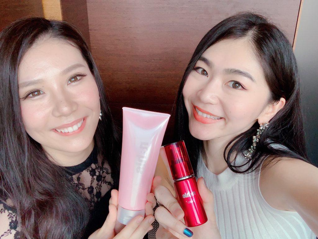 長嶋理沙さんと野口美沙希さん