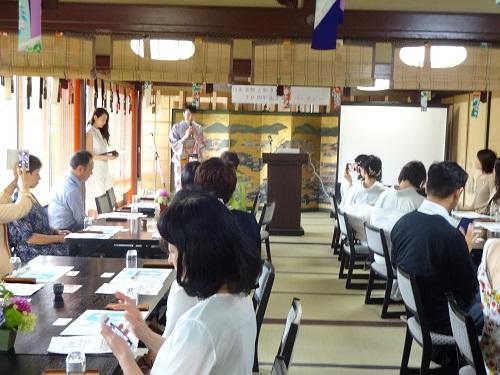 日本姿勢と歩き方協会10周年記念パーティー