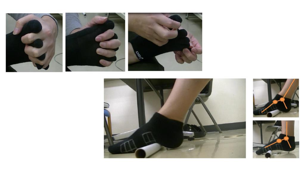 足指とアーチ、足首の柔軟性改善