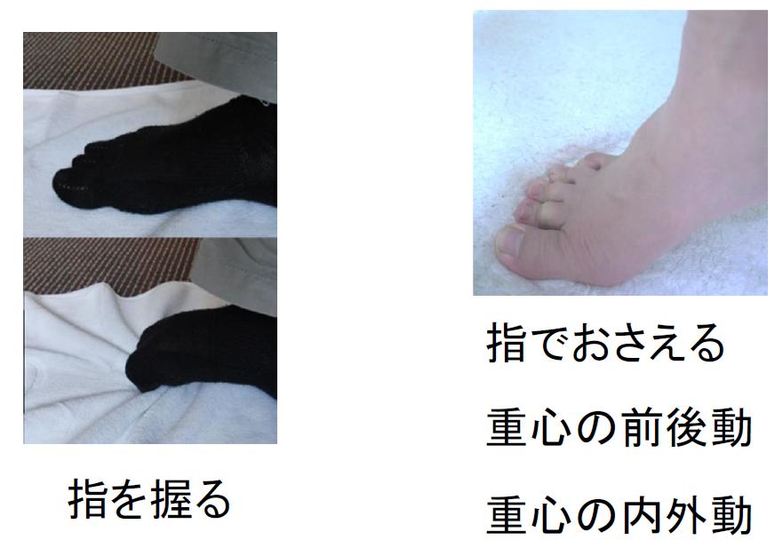 足指トレーニング