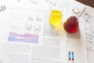 角質細胞間脂質の成分のイメージ