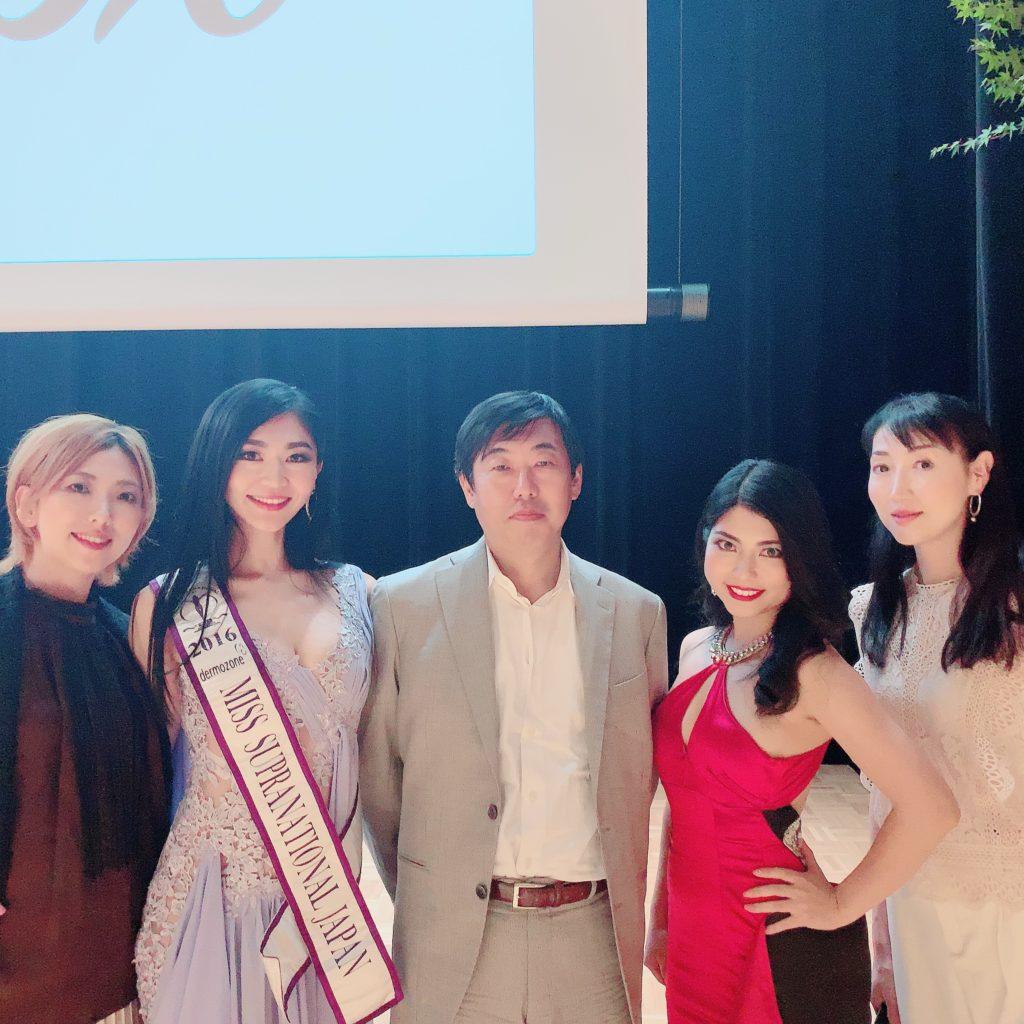 2019ミス・スプラナショナル日本大会を観覧した富本