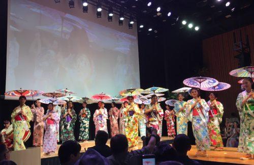 ミス・スプラナショナル日本大会のオープニングショー