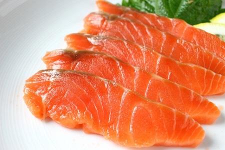 身体を温める食べ物の一つ鮭