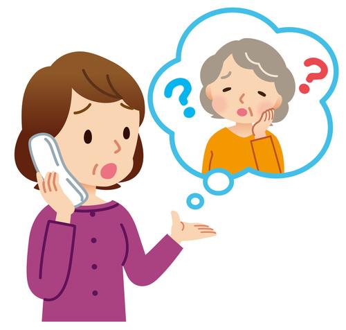 聞こえと認知症の関連イメージ