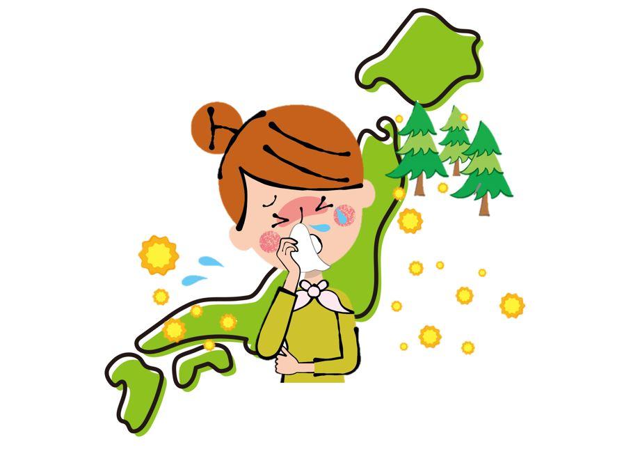 2020年の花粉飛散量の予測