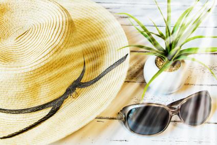 免疫を低下させる紫外線を防ぐ使える帽子やサングラス