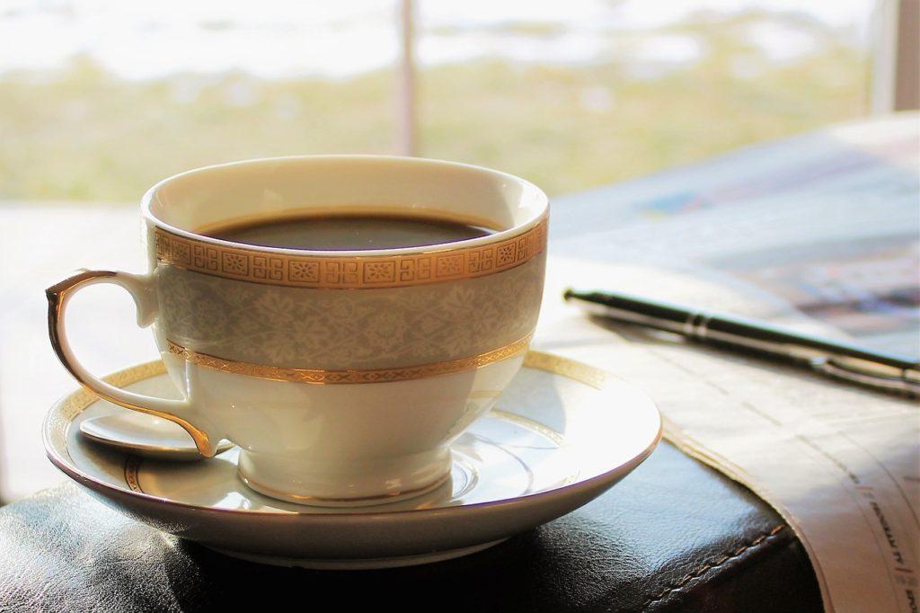 一番のリラックス方法のアイテムであるコーヒー