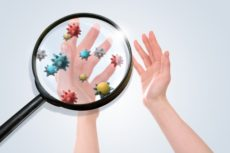 新型コロナウイルス予防には手洗いが重要