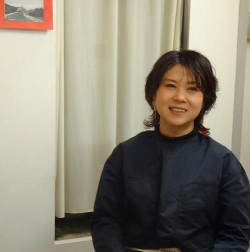 キャレヘアーオーナーの西山由里子さん